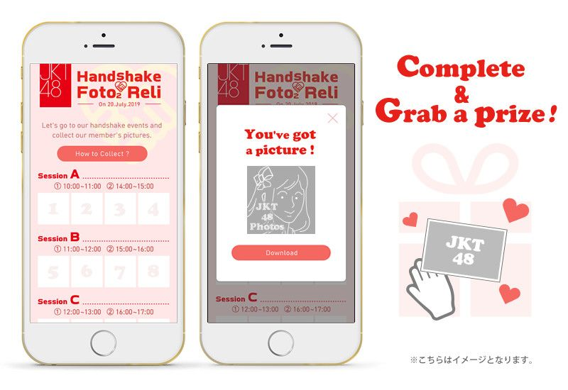 "[Idol x IoT] July 20 JKT48 handshake event app released ""Handshake Foto2 Reli"""