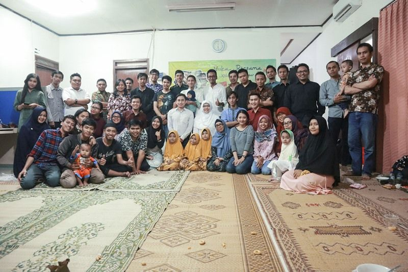 AQI Had Iftar with The Yatim Putri 'Aisyiyah Orphanage