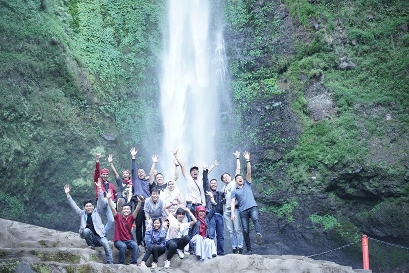 Air Terjun Coban Rondo AQI Outing ke Malang 2018