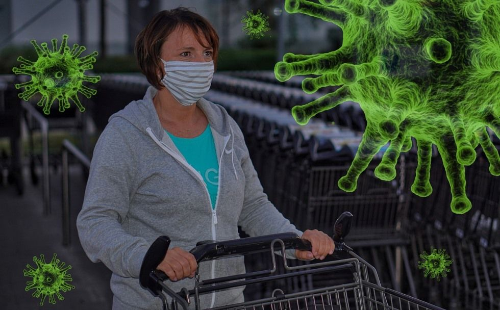 Health Protocol in Indonesian Shopping Mall to Fight the Coronavirus