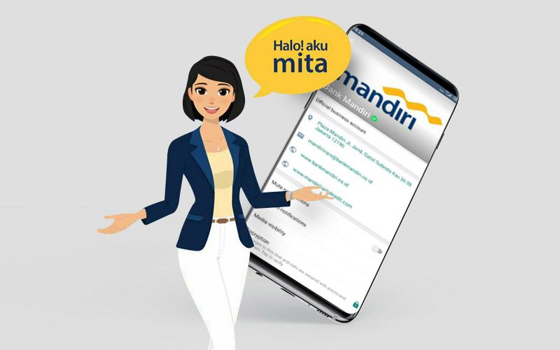 MITA the Virtual Smart Assistant from Bank Mandiri