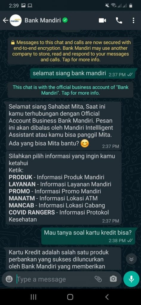 mita mandiri virtual assistant