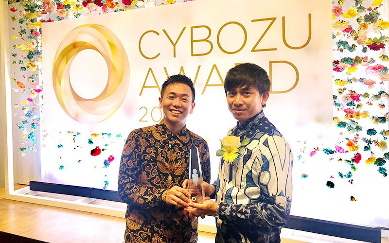 AQI Wins The Global Cybozu Award 2019