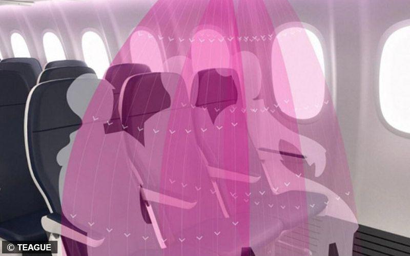 AirShield dari Teague dapat Saring Udara di Pesawat hingga 99,99%!