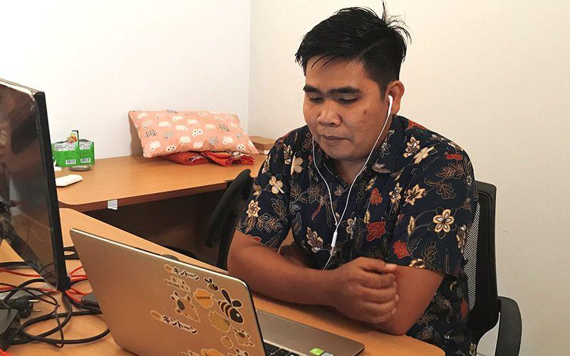 Karyawan AQI Dwi Siswanto