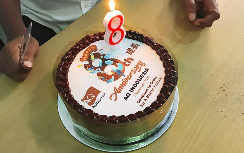 Happy 8th Anniversary AsiaQuest Indonesia!