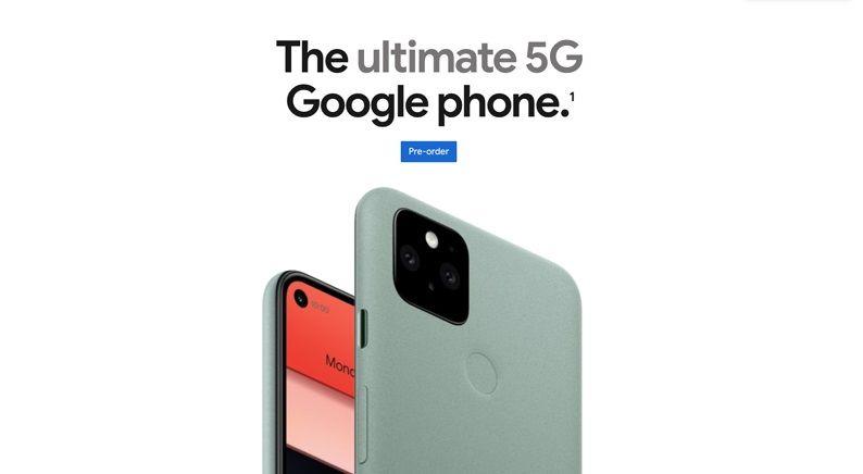 5 Fakta Google Pixel 5