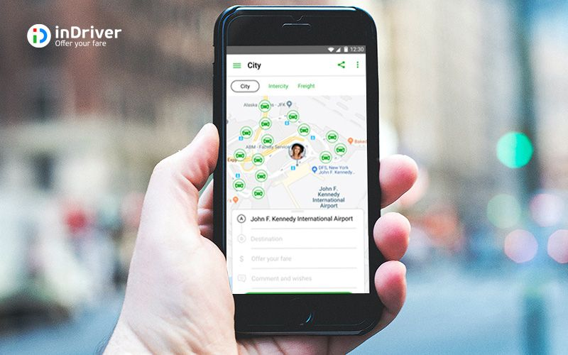 inDriver, a Ride Sharing Application as Gojek and Grab Challenger