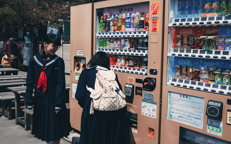 This Vending Machine in Japan Let You Pay with Your Face