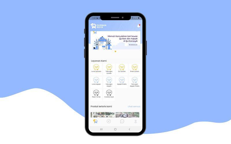 Pesan Hewan Qurban di Qurbanasyik App