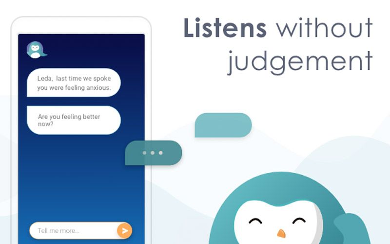 Wysa, an AI Chatbot for People Who Feel Down and Depressed